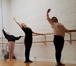 BBB Ballet Body (TM) Barre Students at the Barre