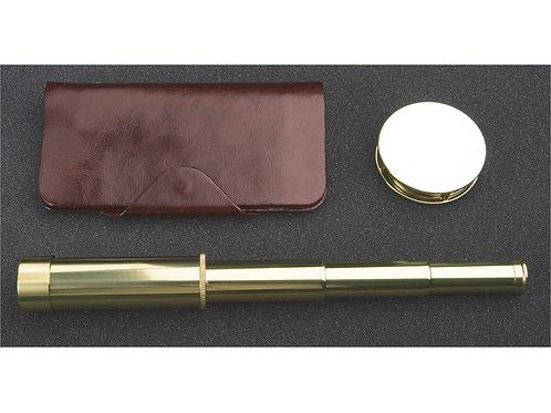 Набор «Каравелла»: трэвел-портмоне, подзорная труба, лупа