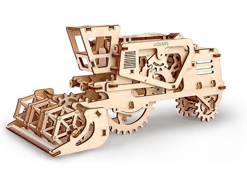 3D-ПАЗЛ UGEARS «Комбайн»