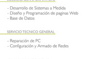 ReadySoft - Servicios Brindados