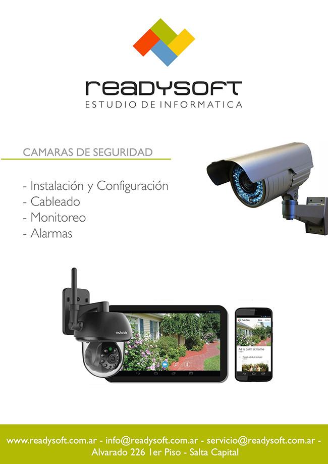 ReadySoft - Camaras de seguridad y Alarmas