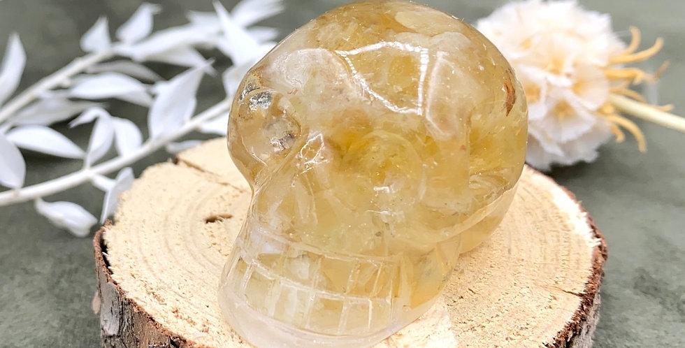 Citrine Mini Skull