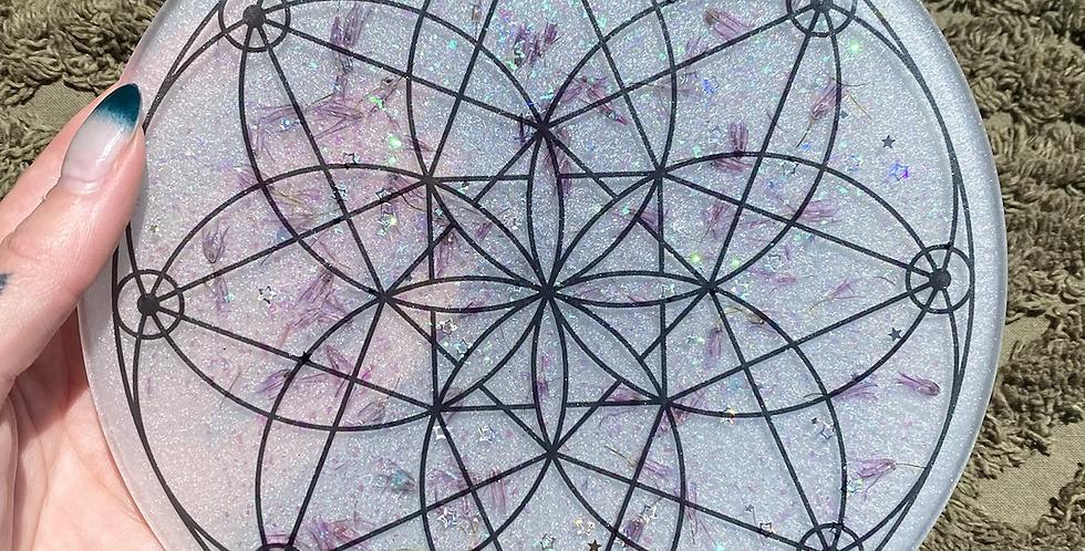 Crystal Grid Plate