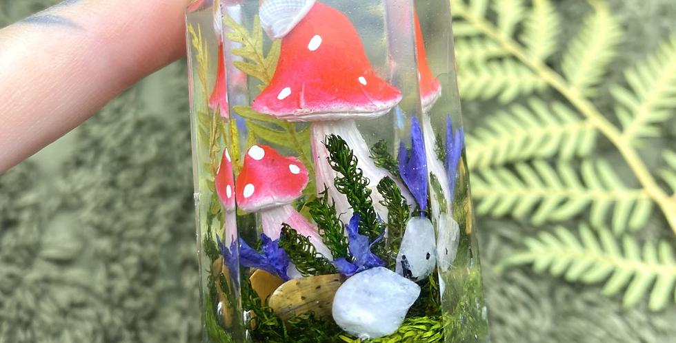 Mushroom Garden Crystal