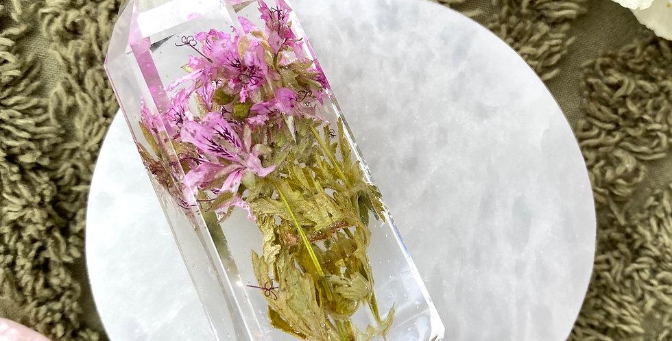 Botanical Crystal - Medium