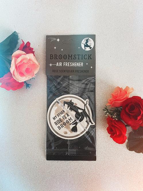 Broomstick Air Freshener - Rose