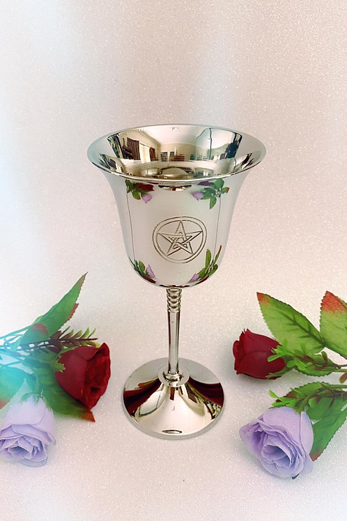 Silver Pentacle Chalice