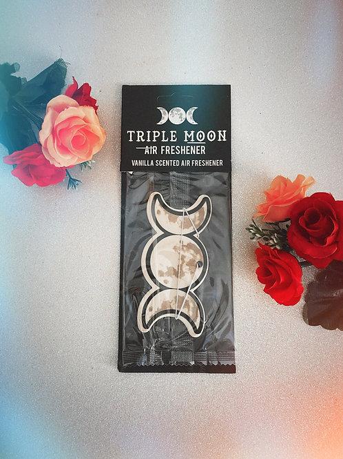 Triple Moon Air Freshener - Vanilla
