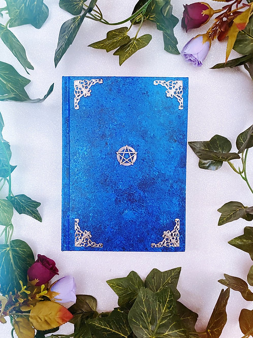 Pentacle Book of Shadows - Blue