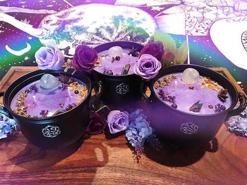 Mystic Oracle Cauldron Candle