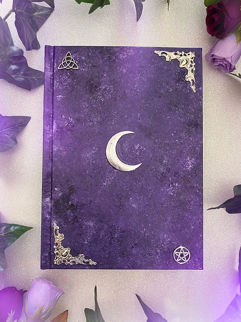 Lunar Witch Book of Shadows - Purple