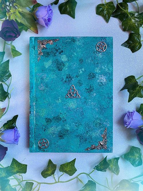 Triquetra Book of Shadows - Aqua
