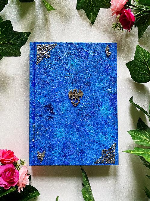 Dragon Book of Shadows - Blue