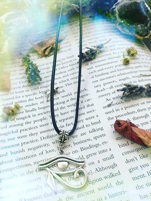 Egyptian Eye of Horus Necklace