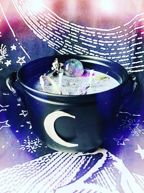 Dark Moon Cauldron Candle