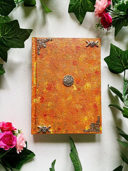 Celestial Witch Book of Shadows - Orange