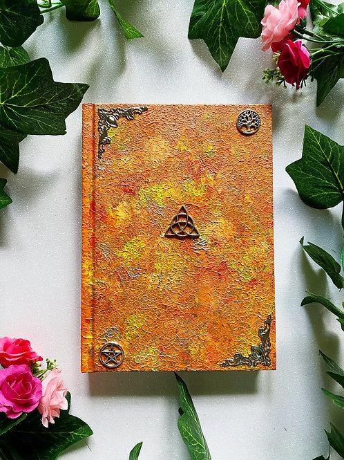 Triquetra Book of Shadows - Orange