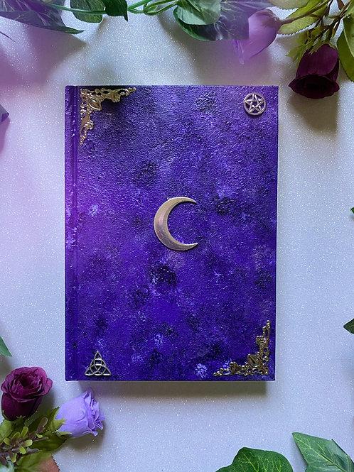 Lunar Witch Book of Shadows - Purple