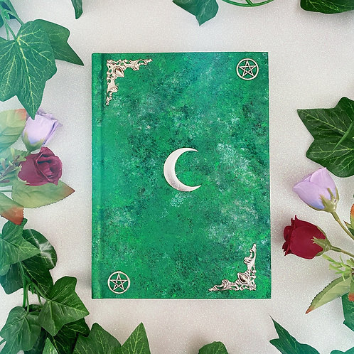 Lunar Witch Book of Shadows - Green