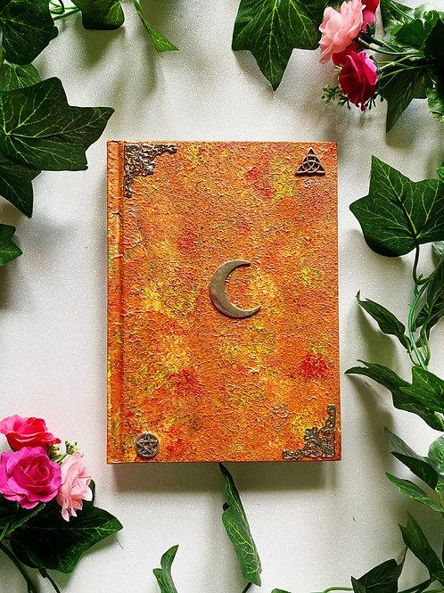 Lunar Witch Book of Shadows - Orange