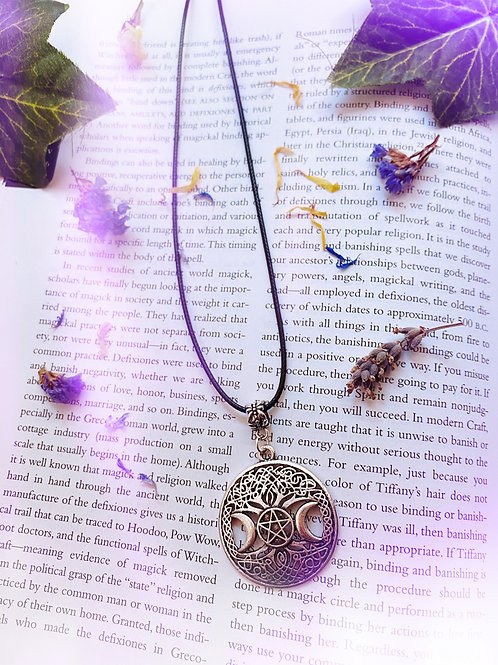Triple Goddess Tree of Life Necklace