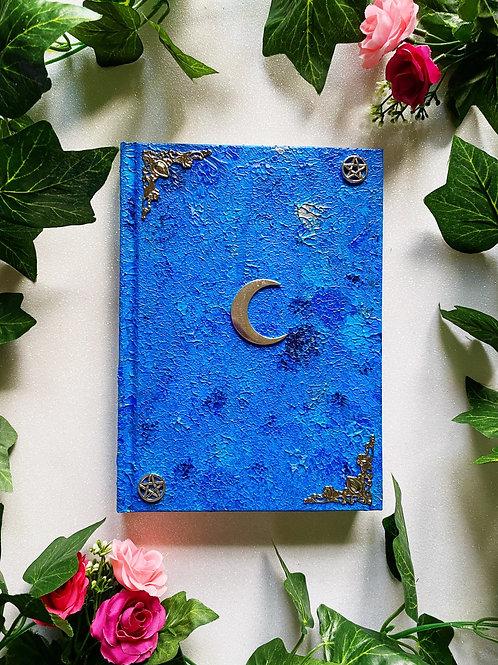 Lunar Witch Book of Shadows - Blue