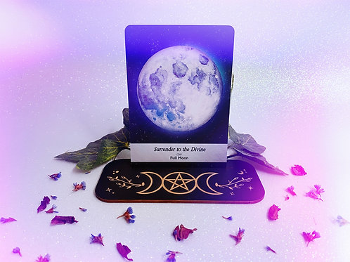 Triple Goddess Oracle Card Stand