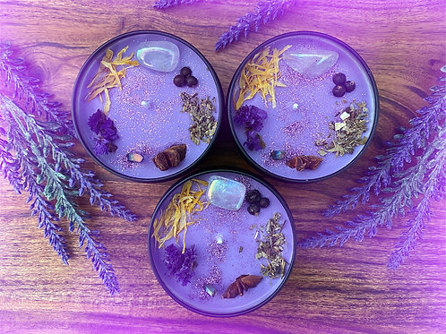 Mystic Oracle Crystal Candle