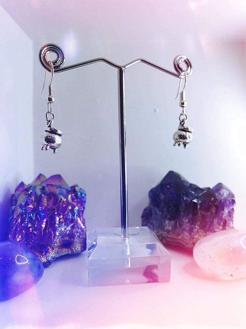 Witches Cauldron Earrings