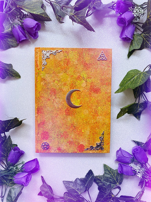Lunar Witch Book of Shadows - Yellow