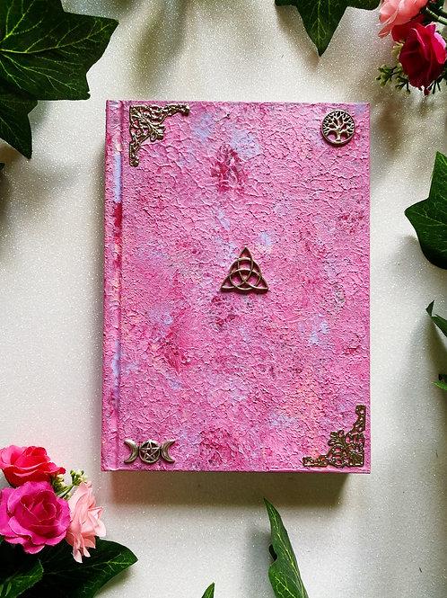 Triquetra Book of Shadows - Pink
