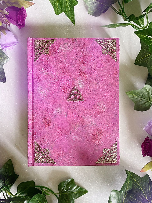 Triquetra Book of Shadows - Pink