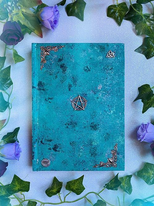 Pentacle Book of Shadows - Aqua