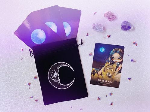 Crescent Moon Tarot Bag