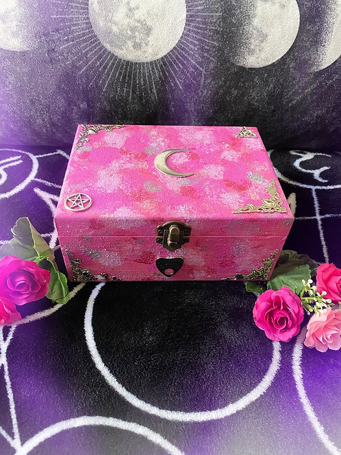 Pink Oracle Witch Altar Box