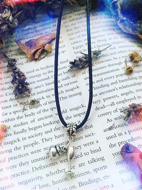 Cauldron & Chalice Charm Necklace