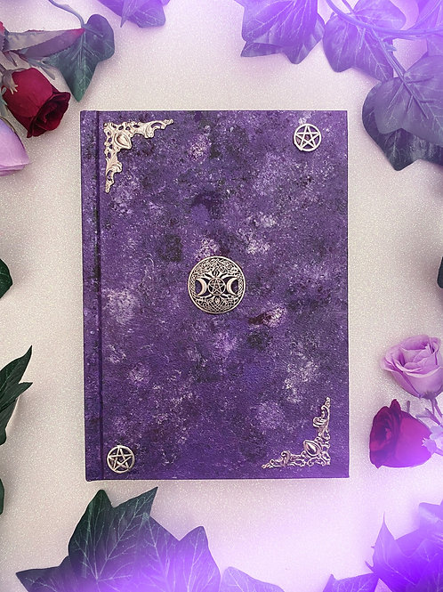 Witch Goddess Book of Shadows - Purple