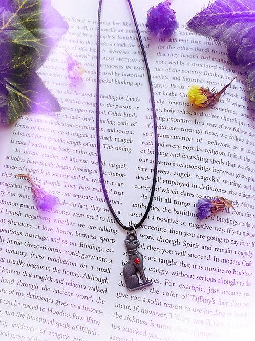 Egyptian Goddess Bastet  Necklace