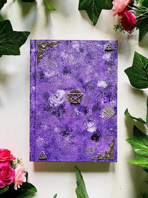 Pentacle Book of Shadows - Purple