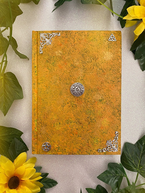 Celestial Witch Book of Shadows - Yellow