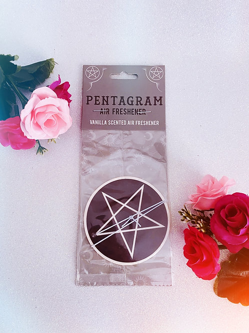 Pentagram Air Freshener - Vanilla