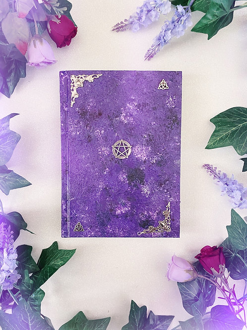 Pentacle Book of Shadows - Purple
