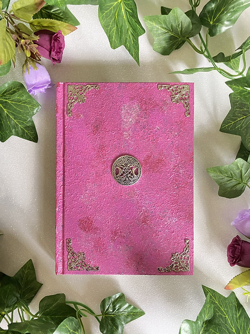 Witch Goddess Book of Shadows - Pink