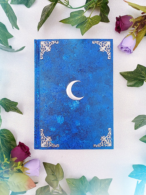 Lunar Witch Book of Shadows - Blue