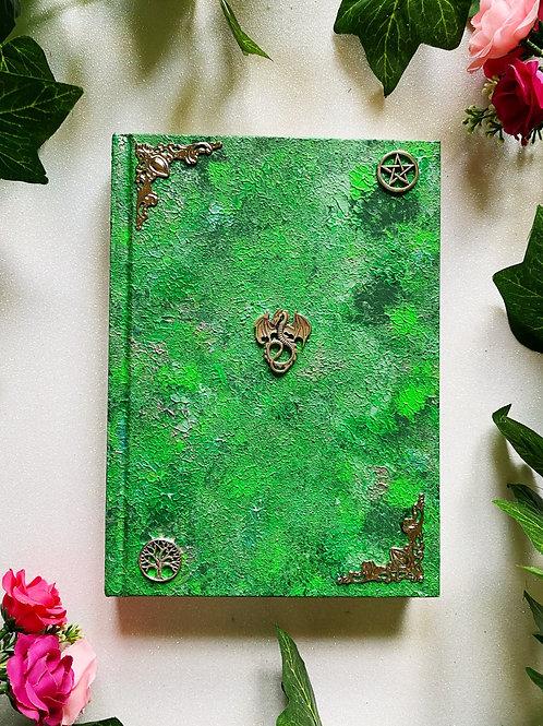 Dragon Book of Shadows - Green