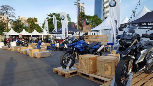 BMW Motorad Roadshow