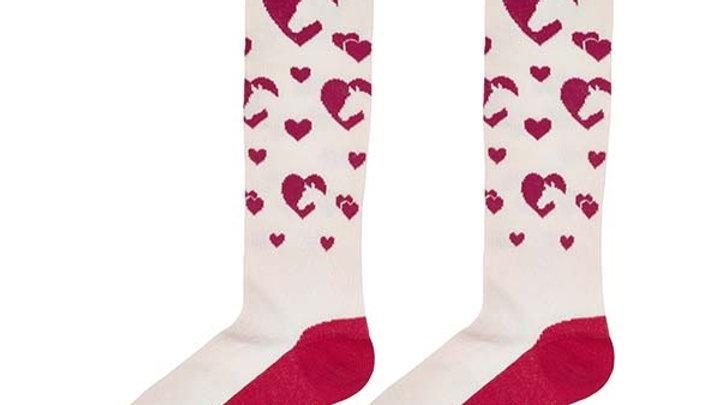 Elico Horse Love Children Socks