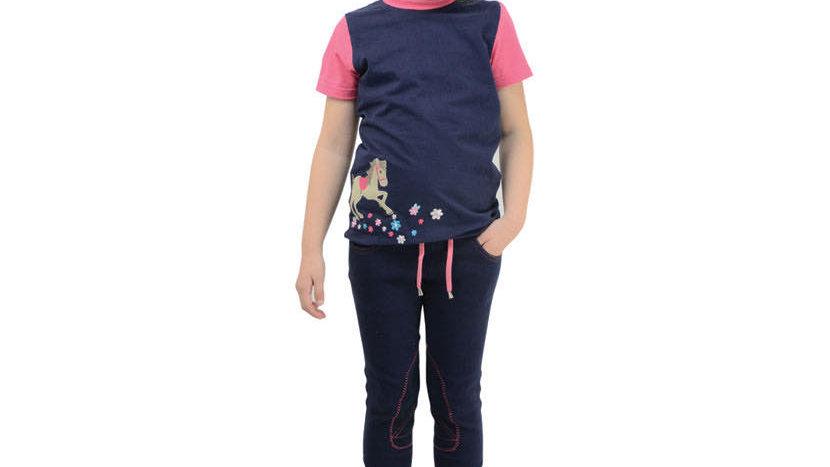 Felicity Flower T-Shirt by Little Rider