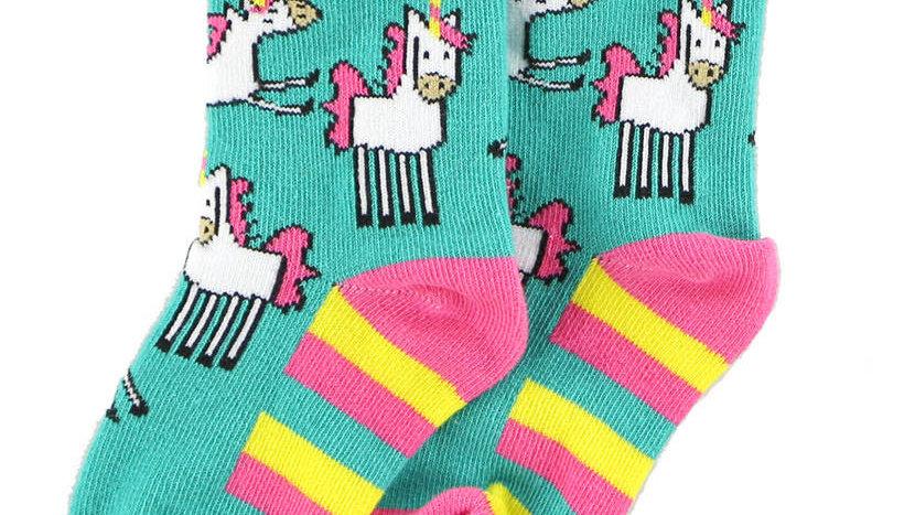 LazyOne Girls Infant Socks