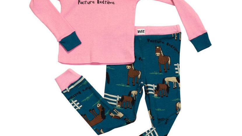 Lazyone Pasture Bedtime Kids PJ Set Long Sleeve